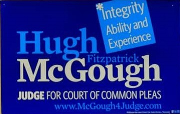 Hugh McGough for Court of Common Pleas