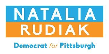 Natalia Rudiak for Pittsburgh City Controller